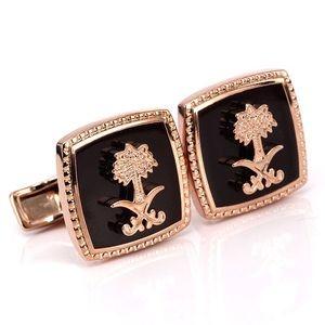 Other - Designer Rose Gold Cufflinks